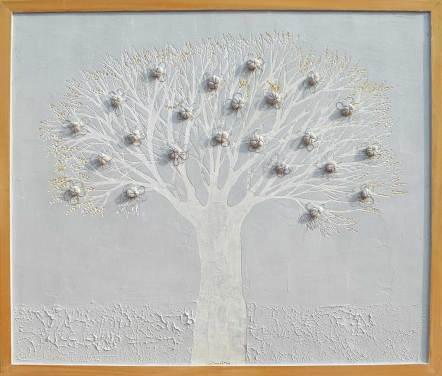 Albero dai buoni frutti, archivio n. 1468, cm 88x103 Affresco
