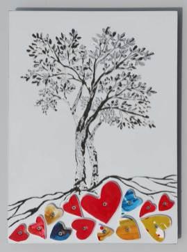 Gli alberi dell'amore, archivio n. 1998, cm 29x21 - 2021