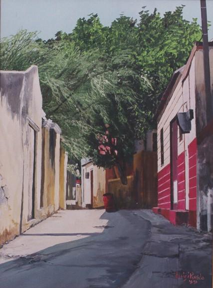 Alley in Otrabanda towards Breedestraat