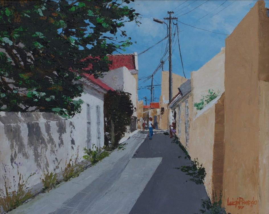 Alley in Otrabanda