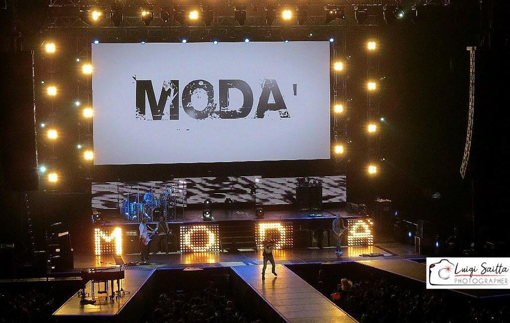 IL PRIMO CONCERTO DA FOTOREPORTER: I MODA'