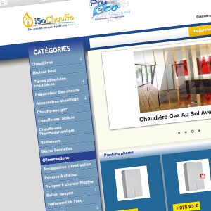 Site web isochauffe