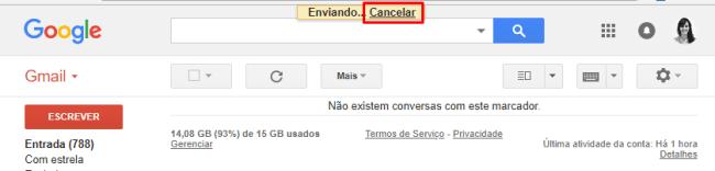 desfazer e cancelar envio de e-mail do gmail6