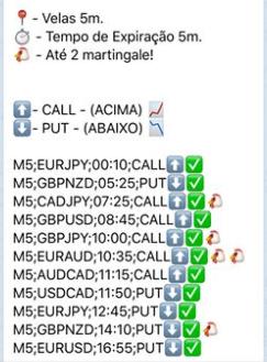 sinais forex telegram