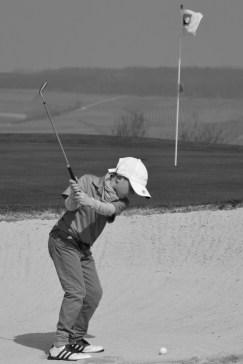 junger Golfer Juli 2015
