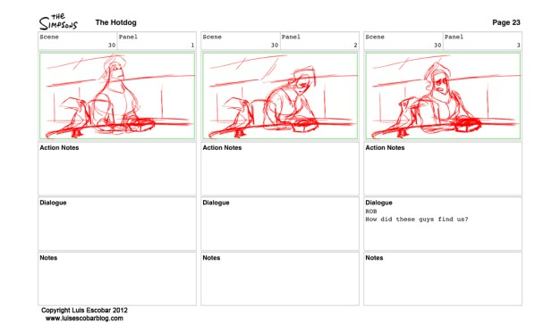 Storyboard  page 23