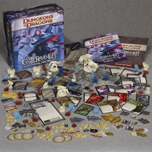 Dungeons and Dragons Castle Ravenloft Board Game Review - Playing With Little Kids (5)
