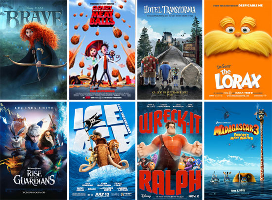 Top Ten CG Animated Movies | Luis' Illustrated Blog