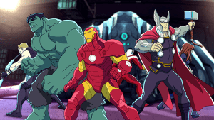 The Pros and Cons of AVENGERS ASSEMBLE Animated Cartoon 04