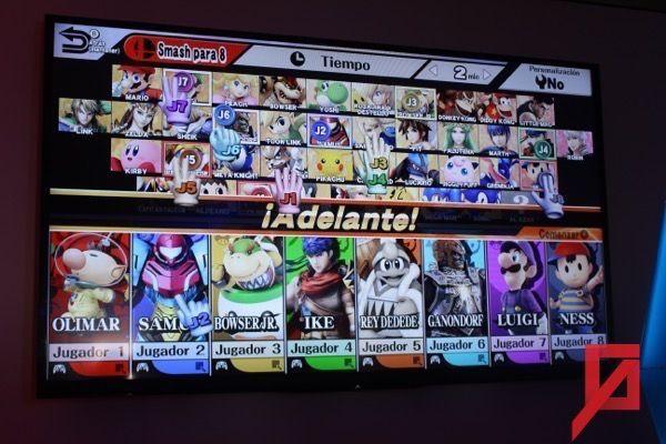 Smash para 8 jugadores