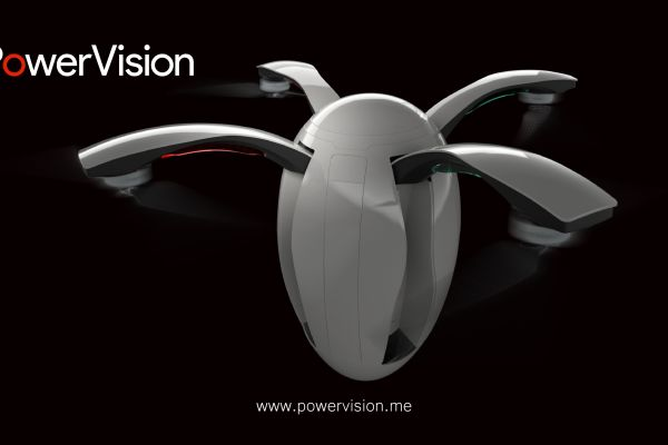 PowerEgg, el práctico dron ovalado de PowerVision Robot