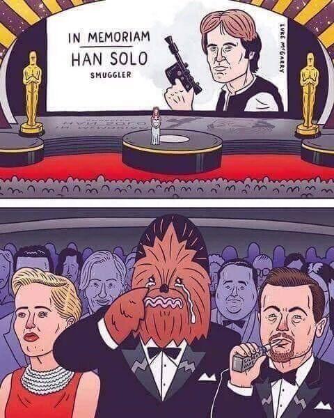 Un pequeño homenaje a la Star Wars