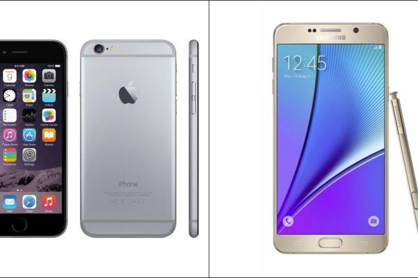 Cambiar un iPhone 6 por un Galaxy Note 5: