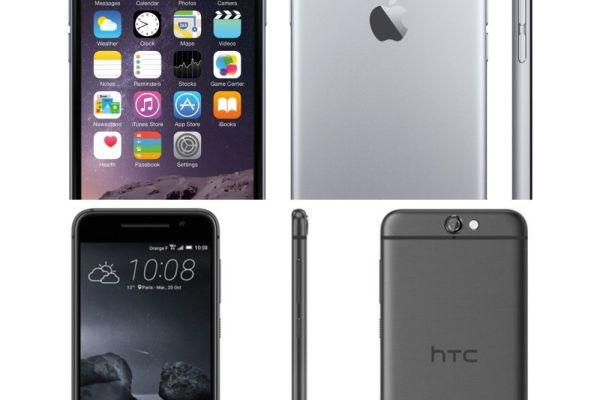 iPhone 6 o HTC One A9
