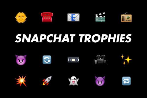 desbloquear los trofeos de Snapchat