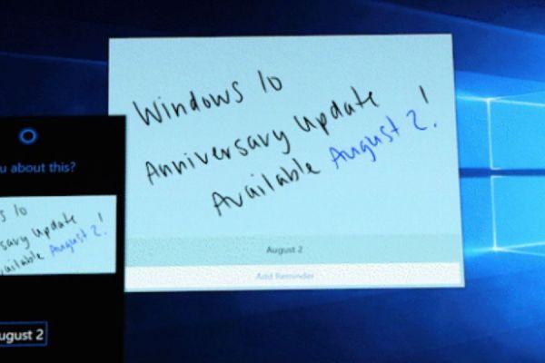 actualización de Windows 10 Anniversary