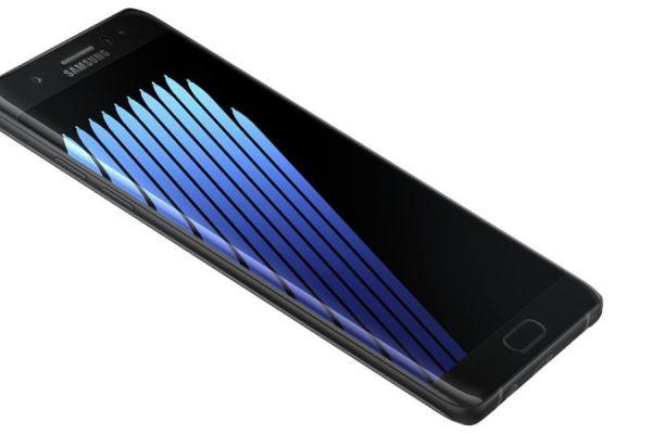 fails del 2016 - la batería del Galaxy Note 7 se cargará al 60%
