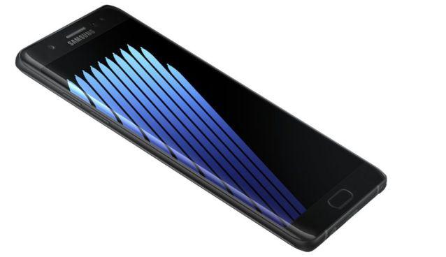 la batería del Note 7 se cargará al 60%