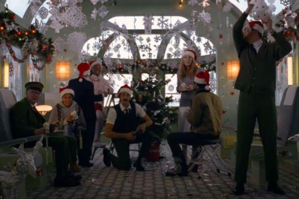 anuncio de navidad de wes anderson