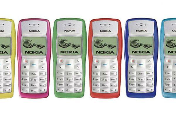 nokia 1100 celulares más vendidos