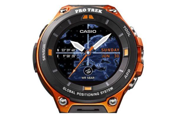 reloj casio con android wear 2.0
