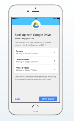 Google Drive en iPhone