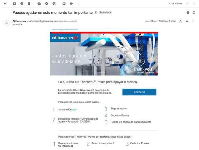 mailing para comunicación corporativa