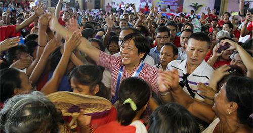 Sen. Bongbong Marcos in Pangasinan (Senate photo)