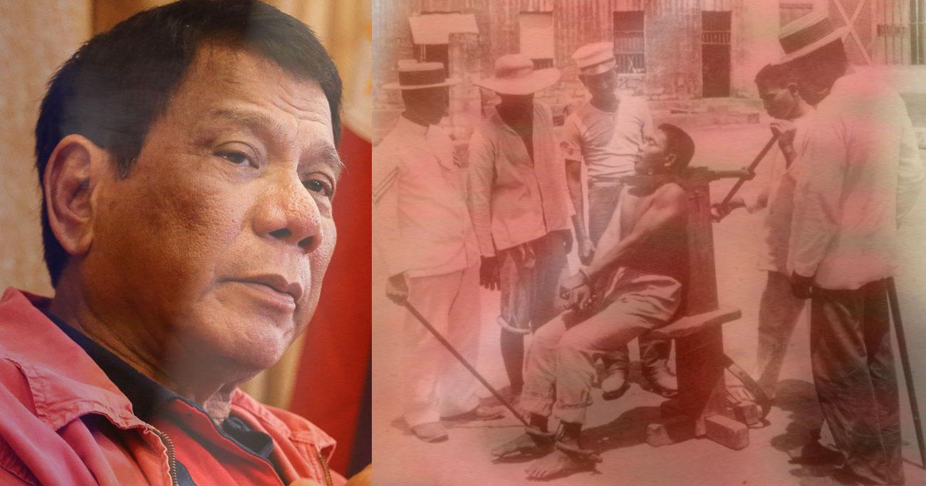 Rodrigo Duterte for death penalty