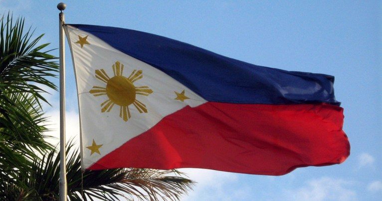 Philippine flag by Mike Gonzalez