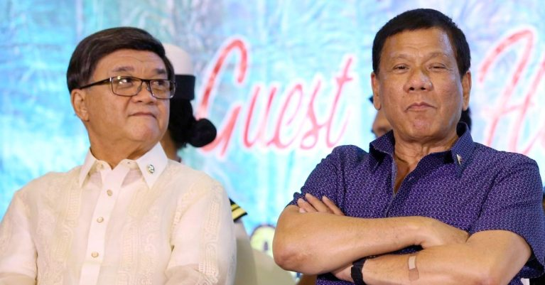 Rodrigo Duterte and Vitaliano Aguirre II