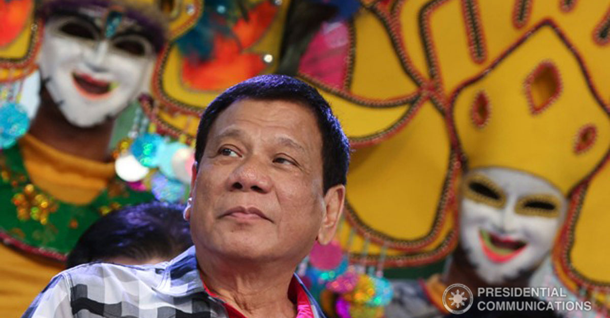 Duterte at MassKara 2016
