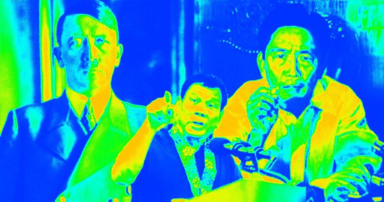 Hitler, Duterte, Marcos