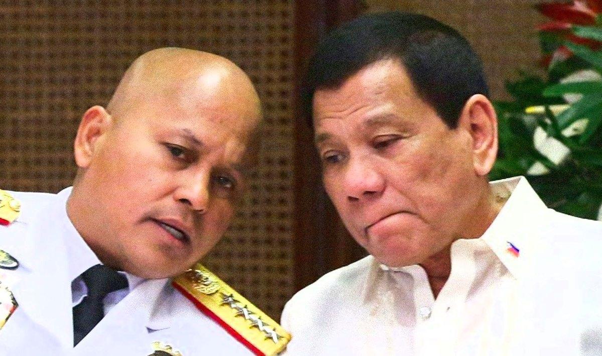Rodrigo Duterte and Ronald dela Rosa