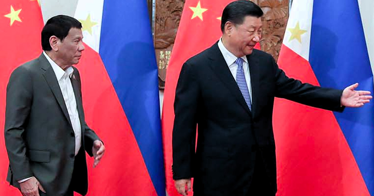 Duterte and Jinping