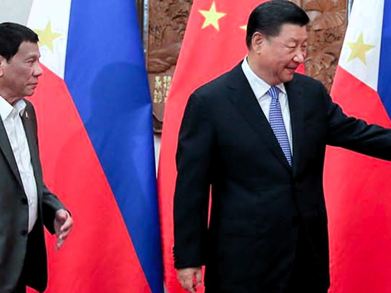Duterte and Jinping