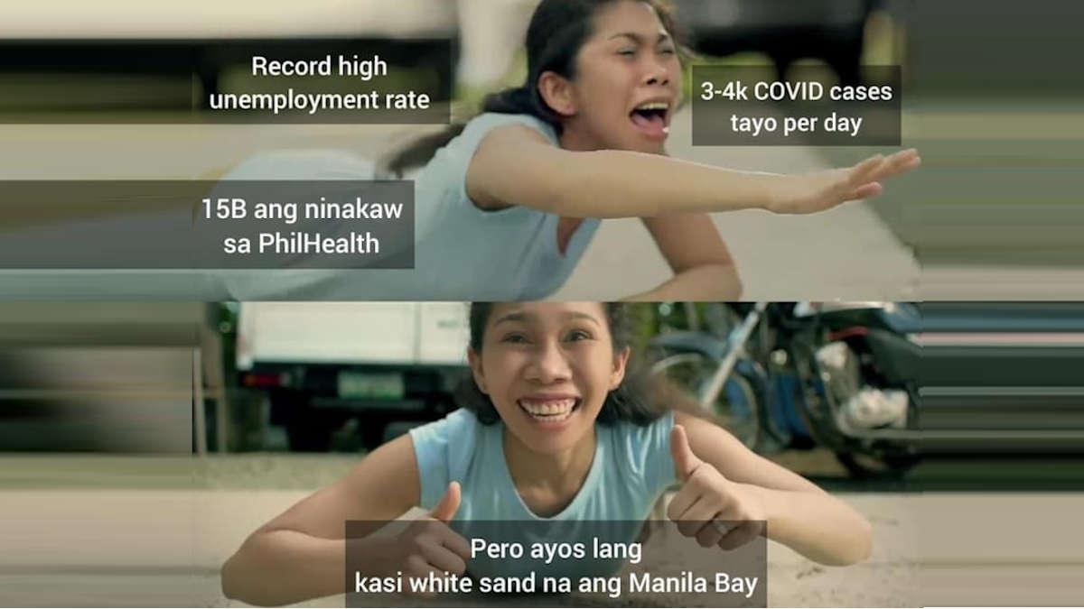 Duterte pa rin meme - Manila Bay version