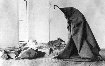 Joseph Beuys - I like Amerika and Amerika likes me, 1974