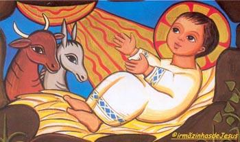 É Natal: Nosso Deus recém-nasceu!