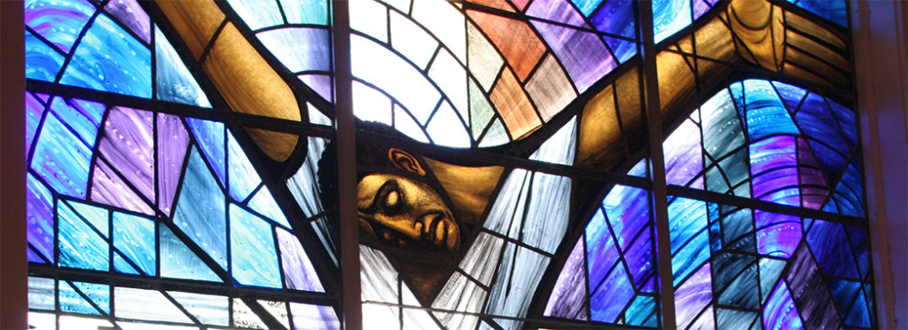 Alabama, Birmingham, 16th Street Baptist Church, stained glass Wales Window, [breack]Black History, Civil Rights, 1963 bombing