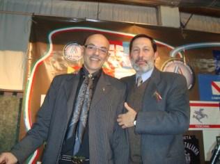 FIESTA: En la Sociedad Italiana, juntos Tony Santoro y Ubertino Rosso