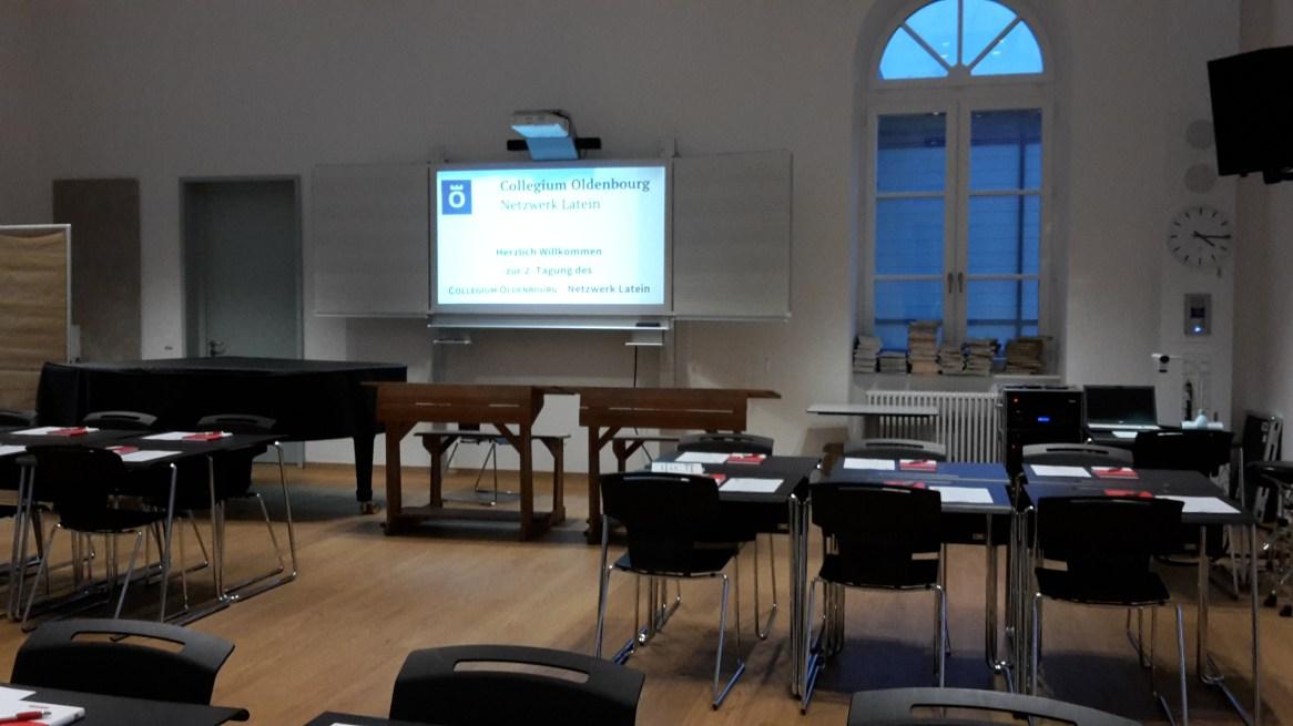 Musiksaal und Empfang im Wilhemsgymnasium