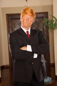 Dick Chibbles as Donald Trump