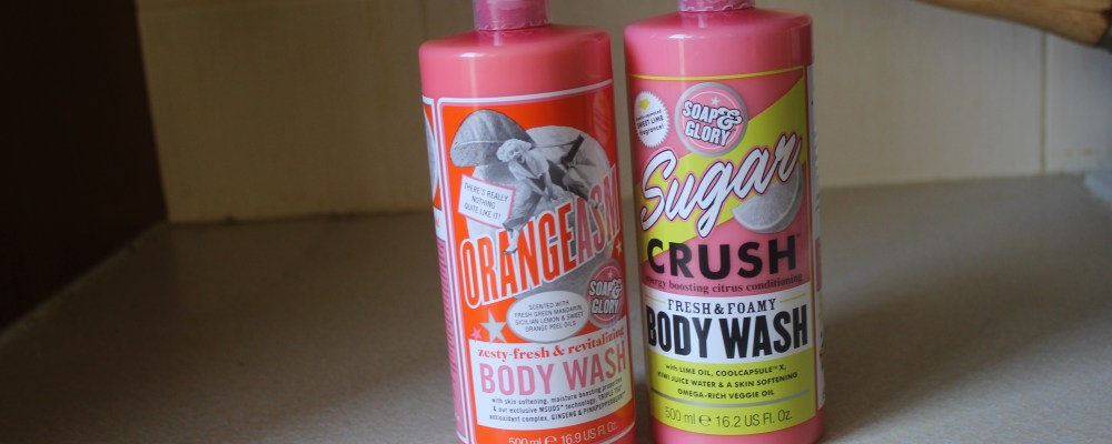 The Glory Of Being Clean | Soap and Glory Body Wash Review