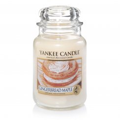 Ginger, Spice, and Everything Nice | Yankee Candle Gingerbread Maple
