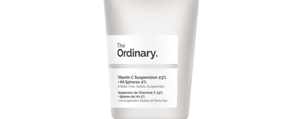 This Is No Ordinary Vitamin C   The Ordinary Vitamin C Suspension 23% + HA Spheres 2%