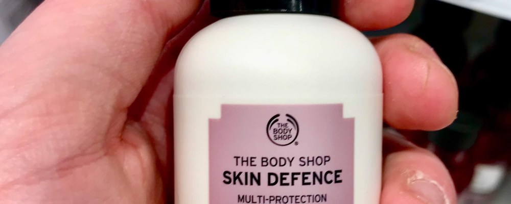 Defending My Skin Against The Sun   The Body Shop Skin Defence Multi-Protection Face Mist SPF30 PA++