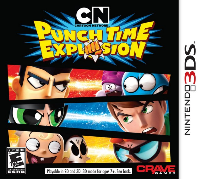 Explosion Cartoon Time Xl Network Punch