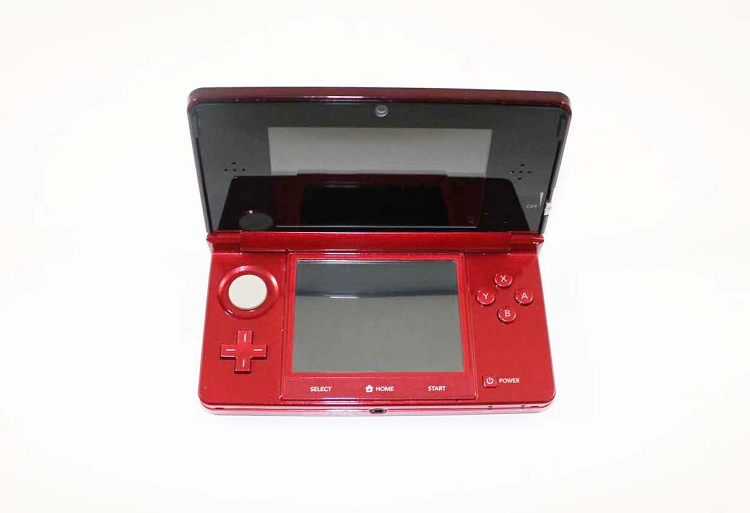 Nintendo 3DS Flame Red System