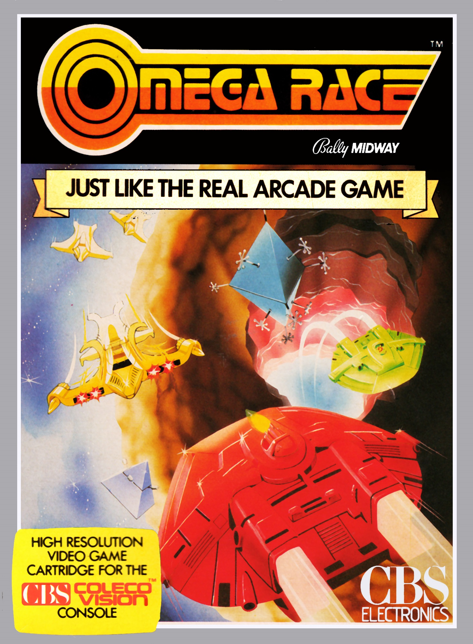 Omega Race ColecoVision Game